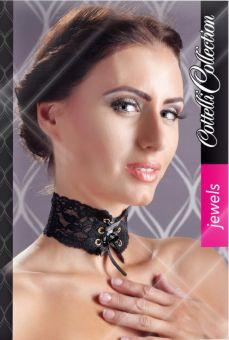 Cottelli Collection - Satin Lace Choker