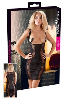 Cottelli Collection - Open Cup Dress (Size S)