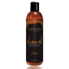 Intimate Earth Almond Aromatherapy Massage Oil 120ml
