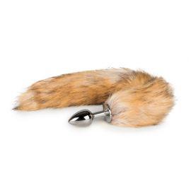 EasyToys Fox Tail Plug No. 1 - Silver