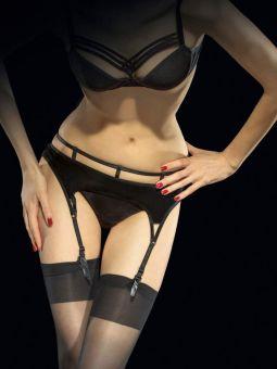 Fiore Vision 40 den (Size 3) Luxury Suspender Belt