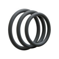 Optimale Silicone Slim 3 Cockring Set (40mm, 45mm, 50mm)