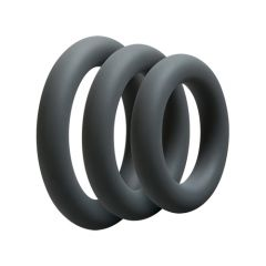 Optimale Silicone Thick 3 Cockring Set (32mm, 37mm, 42mm)
