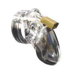 CB-6000S Chastity Cage Clear (37mm)
