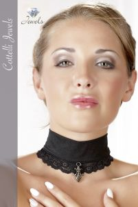 Cottelli Collection - Pendant Lace Choker