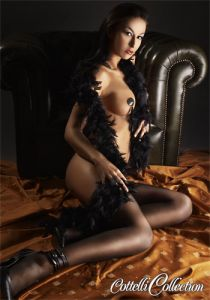 Cottelli Collection - Black Feather Boa