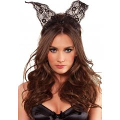 Leg Avenue Lace Bunny Ears Headband
