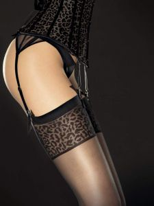 Fiore Antera 20 den (Size 2) Black Stockings