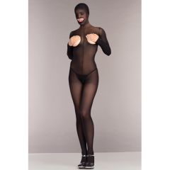 Be Wicked Cupless And Crotchless Hooded Bodystocking (One Size)