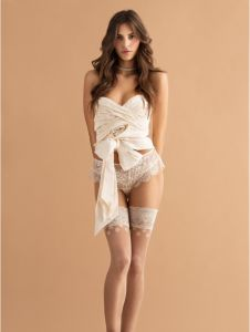 Fiore DOLCE VITA 20 DEN Wedding (Size 2) Premium Stay-Up Stockings