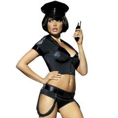 Obsessive - Extra Vigilant Police Costume