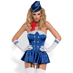Obsessive - American Pin-Up Girl Stewardess Costume
