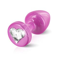Diogol - Anni R Swarovski Crystal Heart Princess Pink 25mm