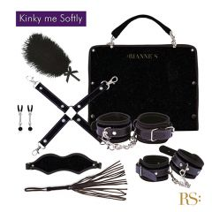 Rianne S - Kinky Me Softly Play Bondage Kit (Black)