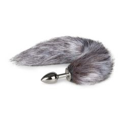 EasyToys Fox Tail Plug No. 5 - Silver