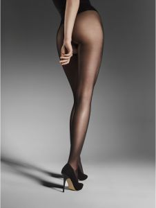 Fiore OUVERT 20 DEN (Size 2) Crotchless Sheer Tights (NUDE COLOR)