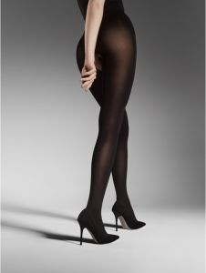 Fiore OUVERT 80 DEN Extra Thick (Size 2) Crotchless Sheer Tights