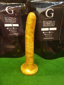 Godemiche Handmade Peg The Apprentice Gold (5x0.83inch)