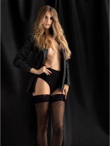 Fiore TEMPIATION 15 DEN (Size 2) Premium Hold-Up Stockings