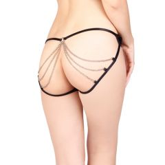 Vixson Panties With Open Back and Chains - Small/Medium
