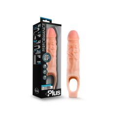 Male Silicone Extender - 9 Inch Silicone Cock Sheath Penis Extender