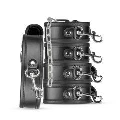 Basic - Whipped Beginner's 5 Piece Bondage Set - Black