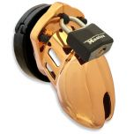 CB-6000S Chastity Cage GOLD (37mm) - Tight Fit Gold